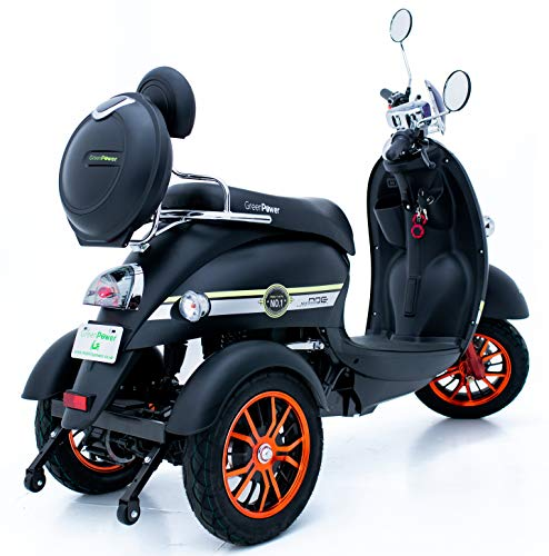 ortopedia-online-Green Power Scooter electrico de Movilidad Moto Para Personas Mayores Recreativo adulto 3 ruedas hasta 25 kmh 60V 100AH 600W 0 0