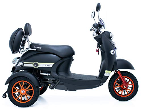 ortopedia-online-Green Power Scooter electrico de Movilidad Moto Para Personas Mayores Recreativo adulto 3 ruedas hasta 25 kmh 60V 100AH 600W 0 1